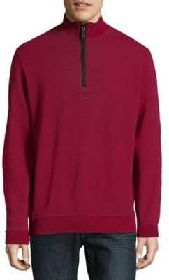 Bugatchi Quarter-Zip Knit Sweater