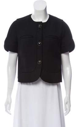Marni Silk-Wool Short Sleeve Jacket
