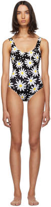 Solid And Striped Solid and Striped Black and White Daisy The Anne-Marie One-Piece Swimsuit