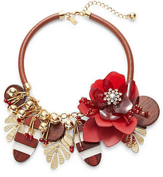 Kate Spade Floral Statement Bib Necklace