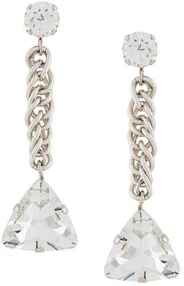 Christopher Kane crystal drop earring