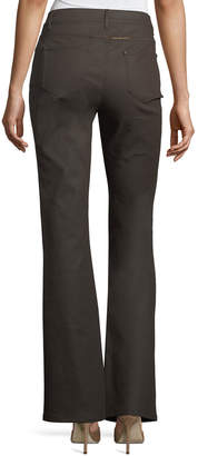 Lafayette 148 New York Thompson Waxed Boot-Cut Jeans