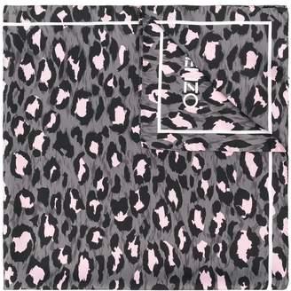 Kenzo leopard print scarf