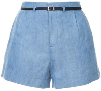 GUILD PRIME belted tailored shorts