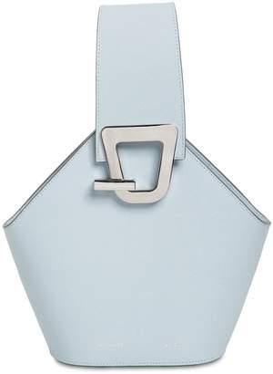 Mini Johnny Leather Top Handle Bag