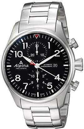 Alpina Men's 'Startimer' Swiss Automatic Stainless Steel Casual Watch