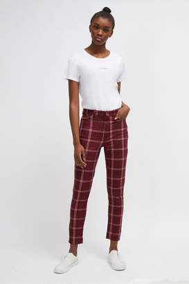 French Connection Tilly Tartan Skinny Jeans