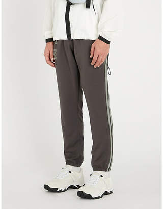 Yeezy Calabasas logo-print tapered jersey jogging bottoms