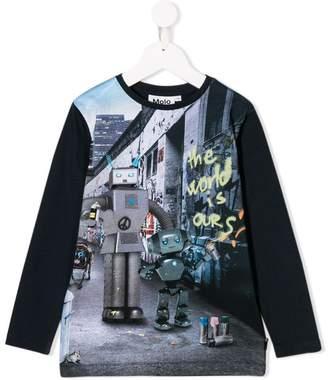 Molo Robots print T-shirt