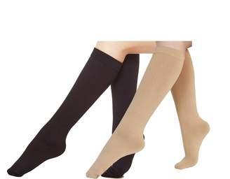 b9e245124ac Eabern 6 Pairs Women s Opaque Plush Fleece Lined Trouser Socks Knee High  Stocking(asst)