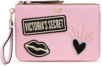 Victoria's Secret Victorias Secret Patch Night Out Wristlet