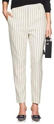 LES COYOTES DE PARIS Women's Jo Pinstriped High-Rise Pants