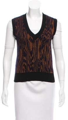 Dries Van Noten Patterned Sweater Vest