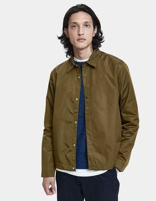 Norse Projects Svend Nylon Oxford Jacket in Sitka Green