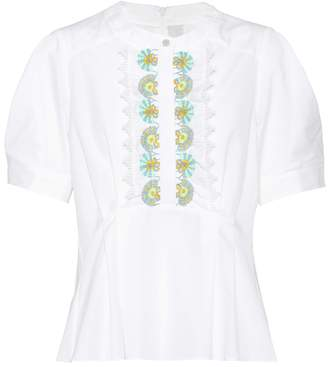 Peter Pilotto Cotton blouse