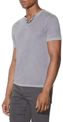 John Varvatos Reverse Spray Henley