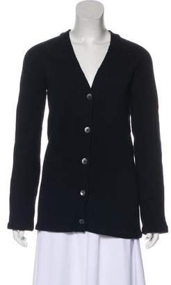 Miu Miu Wool V-Neck Cardigan