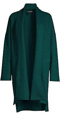 Eileen Fisher Women's Kimono Wool Coat