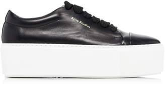 6bb69c6ccb Acne Studios Drihanna Leather Platform Sneakers
