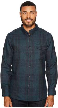 The North Face Long Sleeve ThermoCore Shirt Men's Long Sleeve Button Up