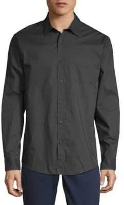 Saks Fifth Avenue Classic Cotton Button-Down Shirt