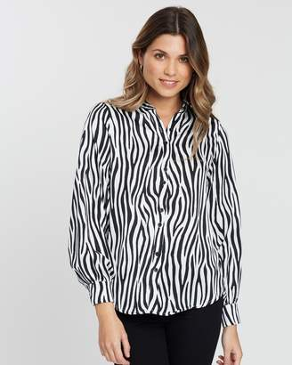Atmos & Here Esma Balloon Sleeve Shirt