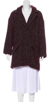 Etoile Isabel Marant Wool-Blend Double-Breasted Coat