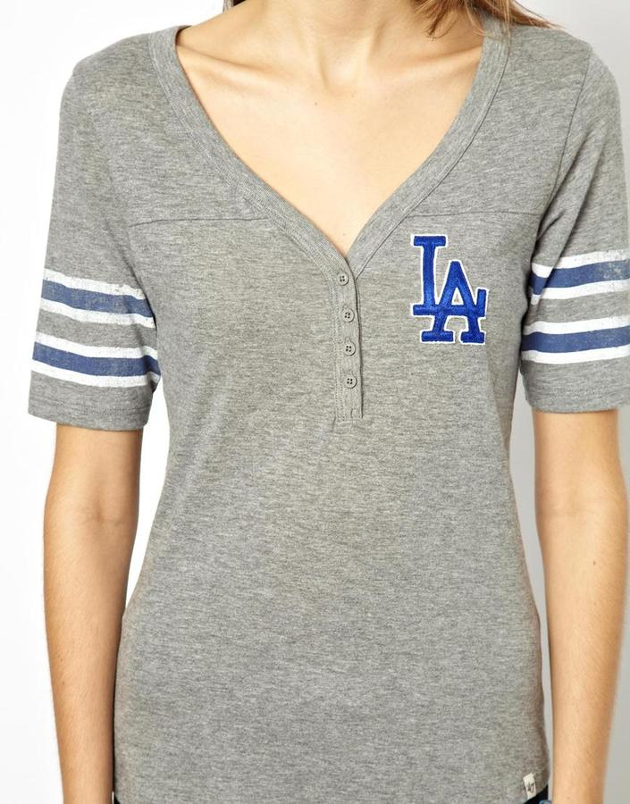 Asos 47 Brand LA Dodgers Baseball T-Shirt Exclusive To