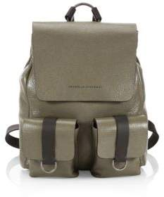 Brunello Cucinelli Glossy Leather Backpack