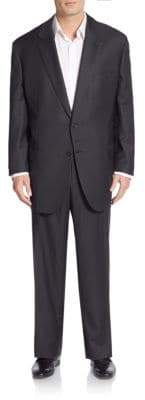Brioni Regular-Fit Solid Wool Suit