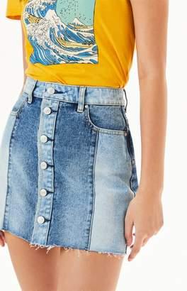 PacSun Button Front Skirt