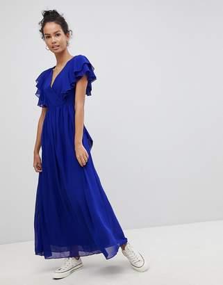 Glamorous Frill Maxi Dress