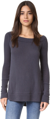 Free People Kate Thermal Top $78 thestylecure.com