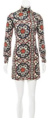 Nieves Lavi Silk Printed Dress