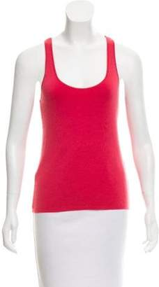 Michael Kors Sleeveless Cashmere top Pink Sleeveless Cashmere top