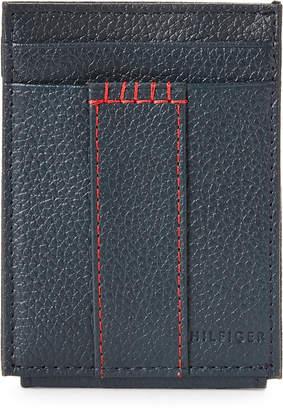 Tommy Hilfiger Navy Wide Magnetic Credit Card Wallet