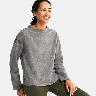Uniqlo Women's Wool-blend Long-sleeve Pullover