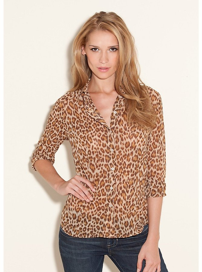 GUESS Drew Long-Sleeve Top - Anniversary Collection
