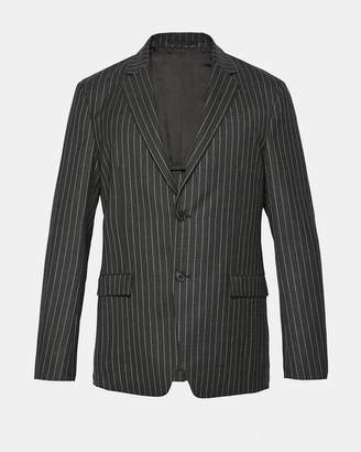 Theory Pinstripe Flannel Simons Jacket