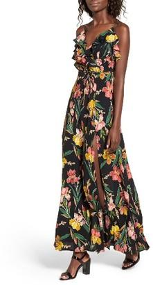 Women's Privacy Please Karen Backless Maxi Dress $248 thestylecure.com
