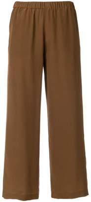 Aspesi cropped wide trousers