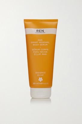 REN Clean Skincare - Aha Smart Renewal Body Serum, 200ml - Colorless