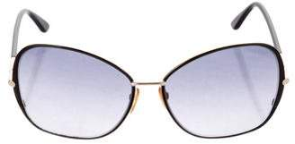 Tom Ford Solange Oversize Sunglasses