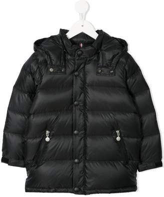Mikihouse Miki House hooded padded coat