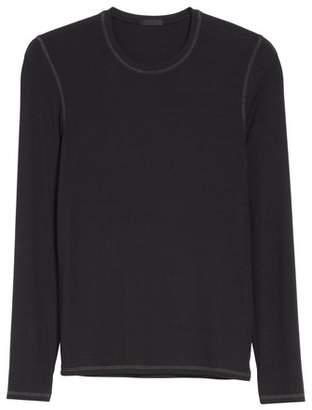 ATM Anthony Thomas Melillo Rib Modal Crewneck Sweater