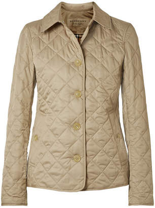 Burberry Quilted Shell Jacket - Beige