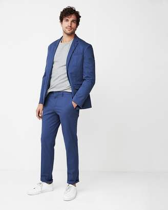 Express Slim Fit Washed Suit Pant