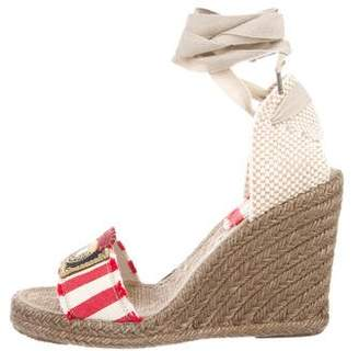 Marc Jacobs Woven Wedge Sandals