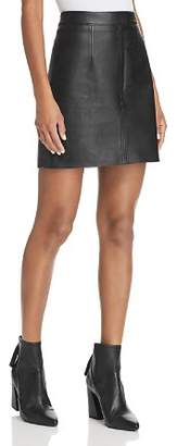 Nobody Cleanline Leather Skirt