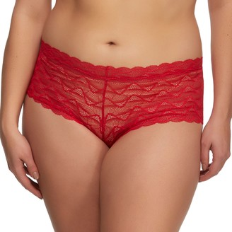 Jezebel Women's Bette Lace Cheeky Tanga Panty 725046